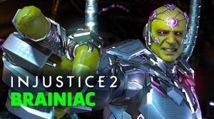 Injustice 2 - Shattered Alliances Part 5 Official Brainiac Showcase