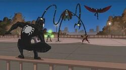 Spectacular Spider-Man (2008) Black Suit Spider-Man vs Sinister Six part 1