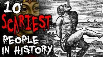 10 SCARIEST People of All Time TWISTED TENS 31