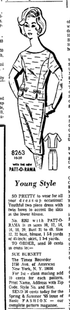 Patt-O-Rama8263 - 1965
