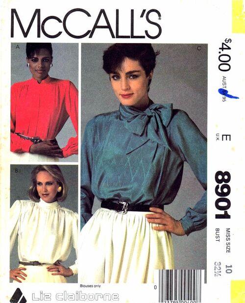 McCalls 1984 8901