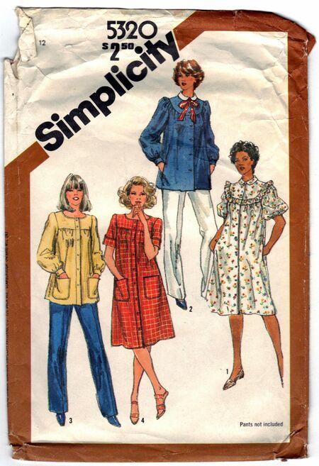 Simplicity 5320 B