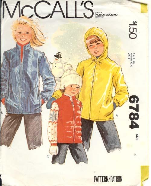 6784m 1979 childjacket