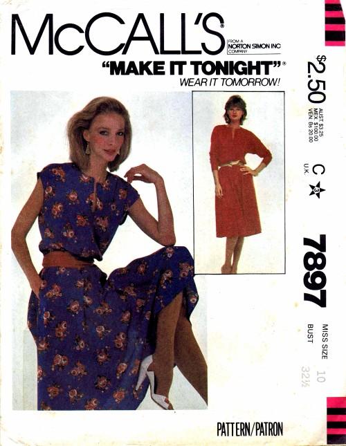 McCalls 1982 7897