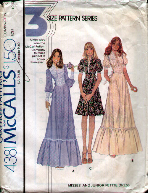 McCalls 4381 70s