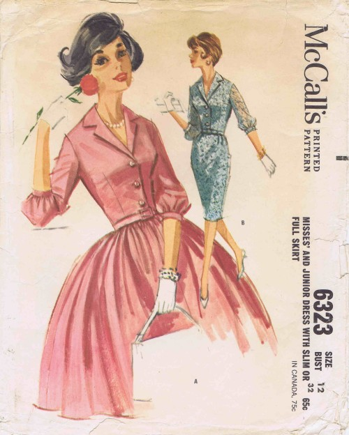 McCalls 1962 6323