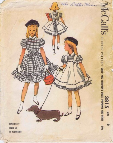 McCalls 1956 3815