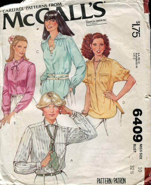 Mccalls6409blouses