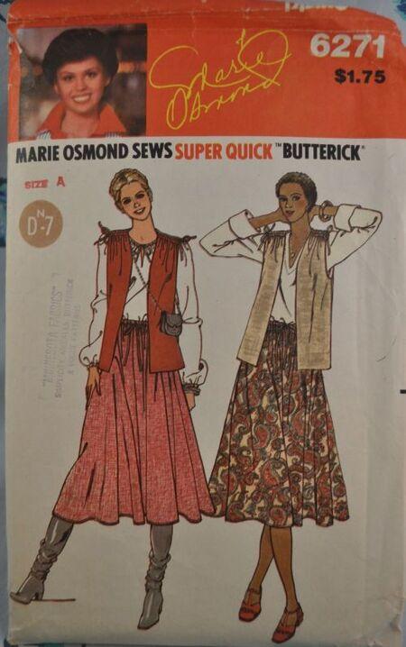 Butterick marie omond 6271