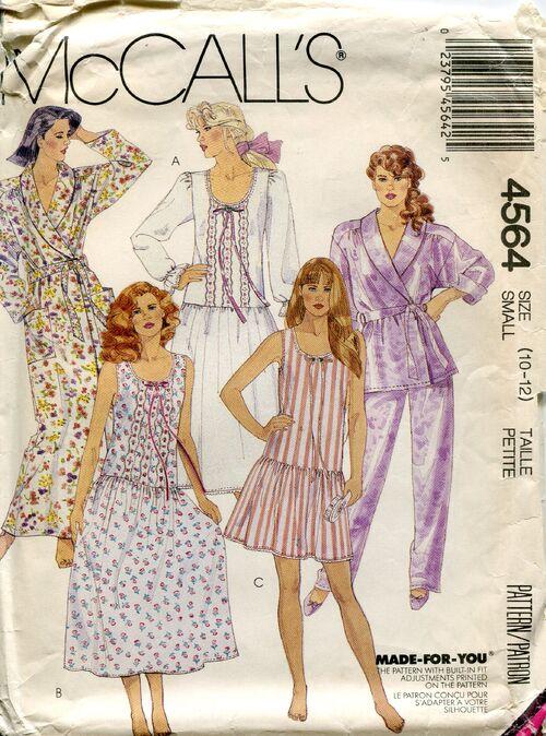 Mccalls4564nightwear