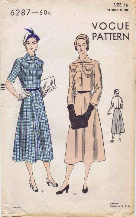 Vogue 1948 6287