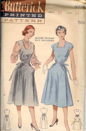 5778B 1950s Dress