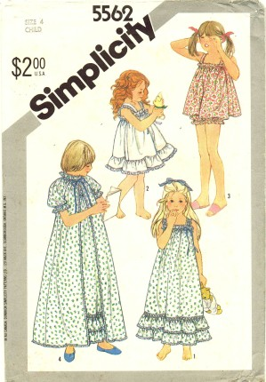 Simplicity 1982 5562
