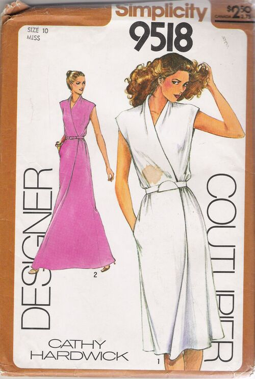 Simplicity 9518 A Vintage Sewing Patterns Fandom