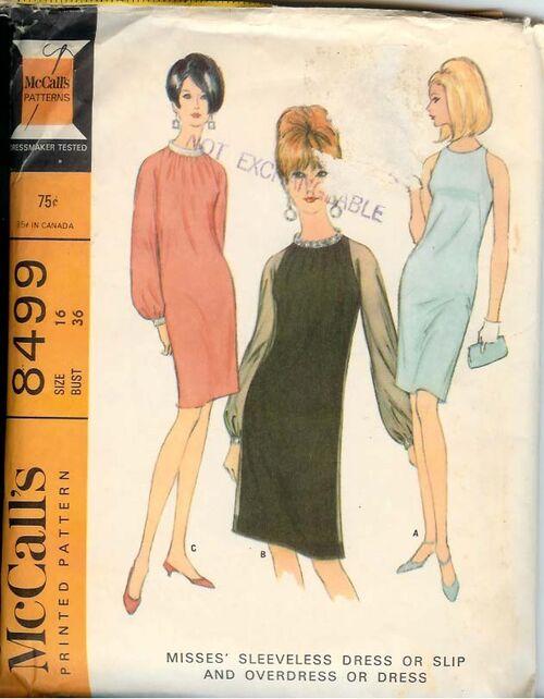 8499M 1966 Dress