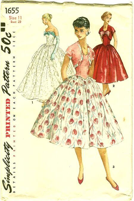Simplicity 1655 Dress