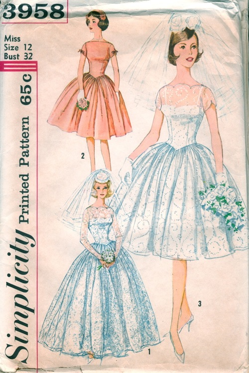 Simplicity 3958 Vintage Sewing Patterns Fandom Powered