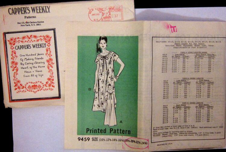 Vintage Mail Order 9459