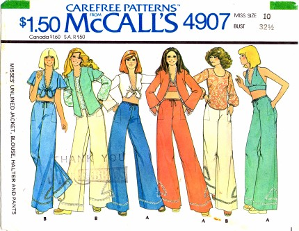 McCalls 1976 4907
