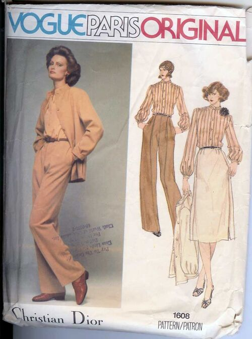 W-1608V 1970s Dior-Separate