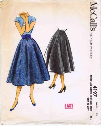 McCalls 1957 4197