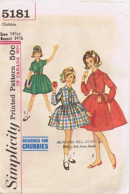 Simplicity 1963 5181