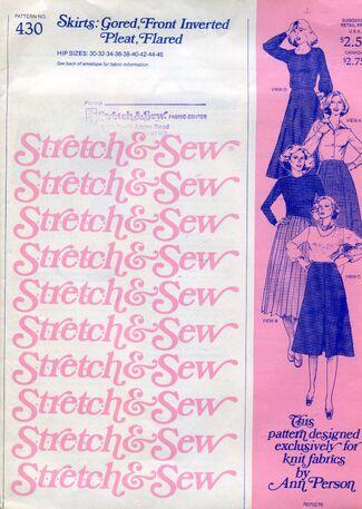 Stretch&sew430goredskirts