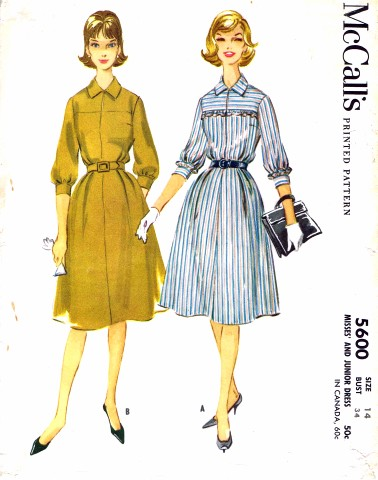 McCalls 1960 5600