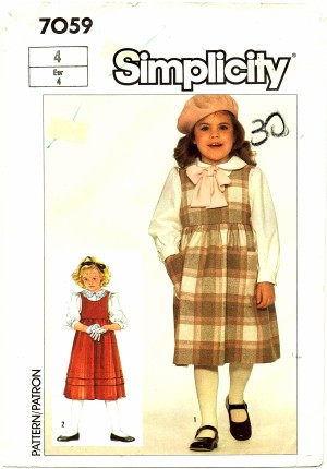 Simplicity 1985 7059
