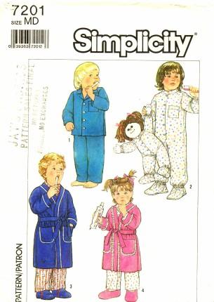 Simplicity 1985 7201