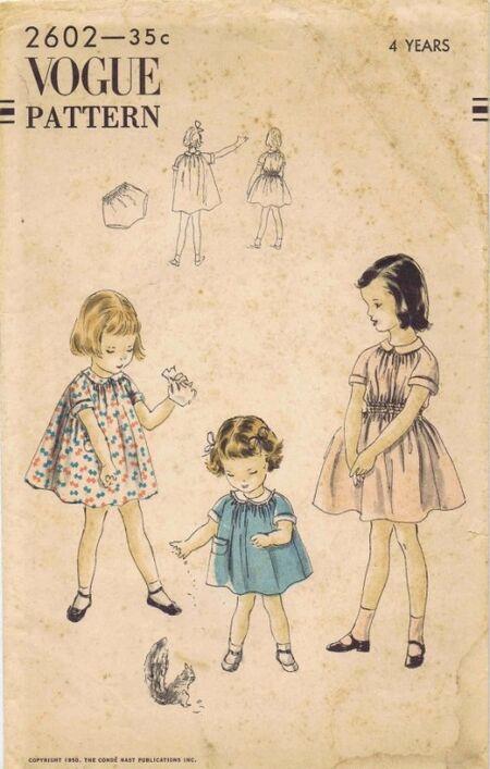 Vogue 1950 2602