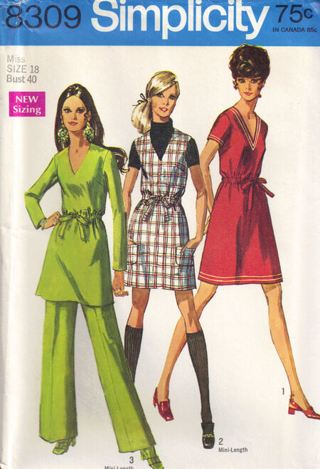 C1969 8309 Simplicity dress