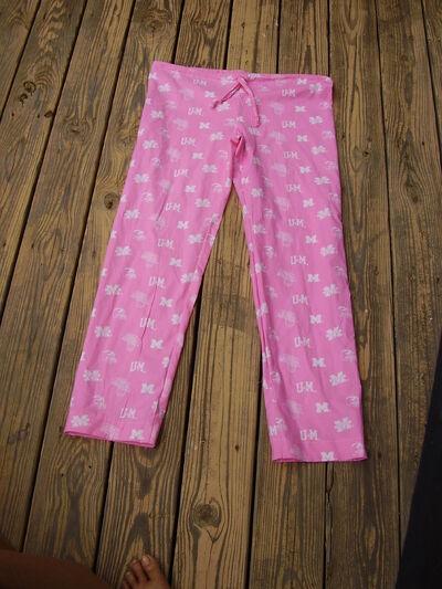 U of M pajamas