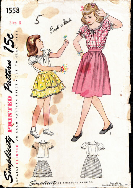 Penelope Rose vintage patterns on Artfire