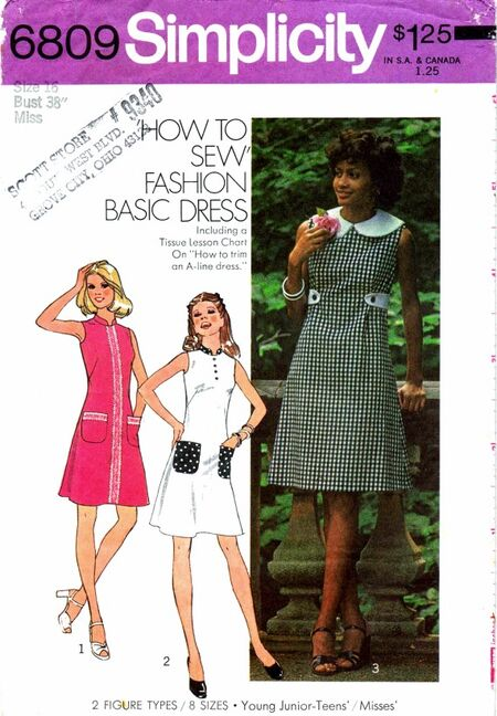 Simplicity 1974 6809
