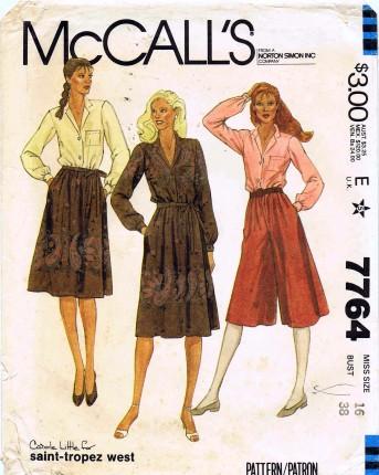 McCalls 1981 7764