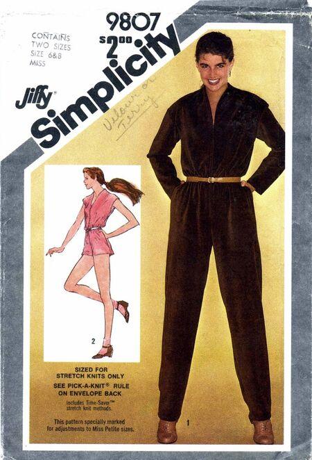 Simplicity 1980 9807