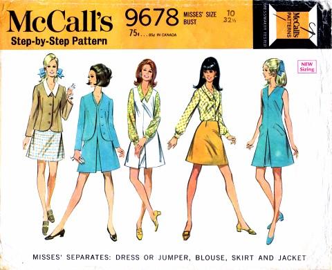 McCalls 1969 9678
