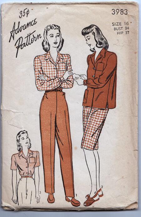 Vintage patterns Penelope Rose (24)