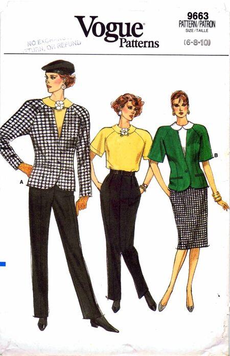 Vogue 1986 9663