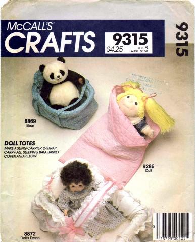 McCalls 1984 9315
