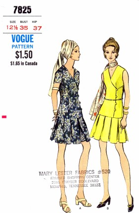 Vogue 7825