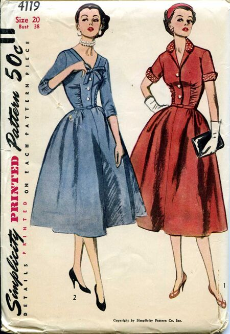 Simplicity 4119 front