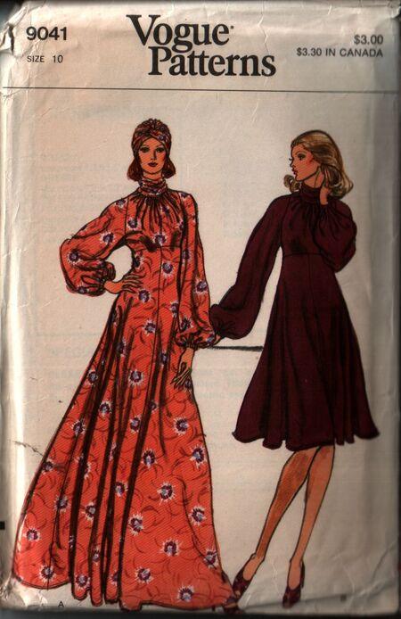 Vogue 9041 front
