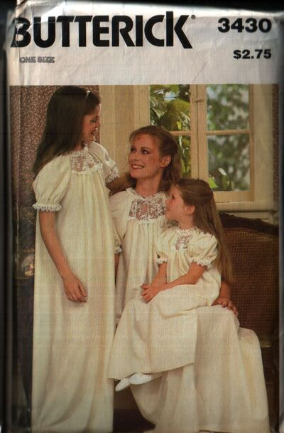 Butterick 3430 front