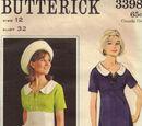 Butterick 3398 A