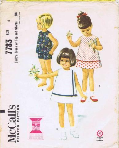 McCalls 1965 7783