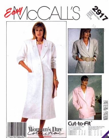 McCalls 1987 2917