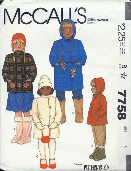 Mccalls 7758 wikia