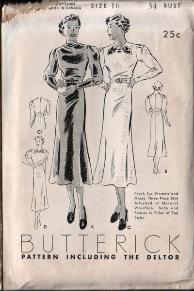 Butterick 7067 front
